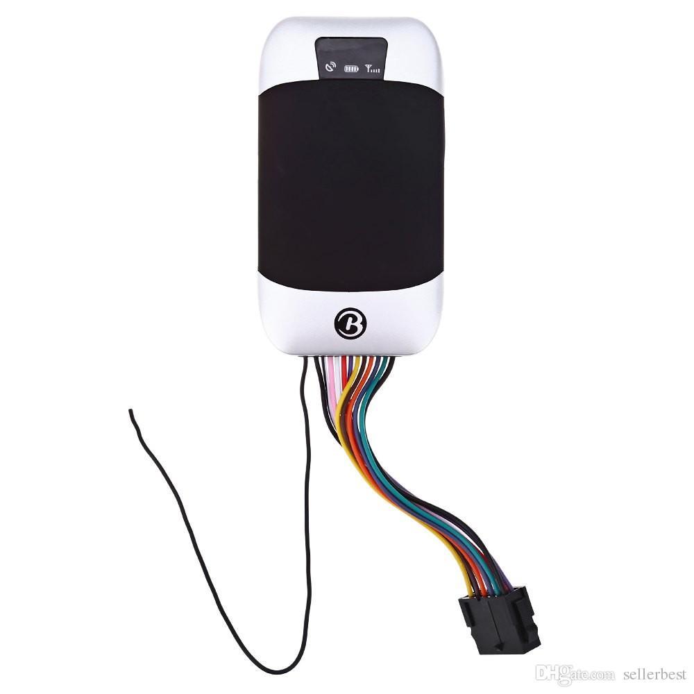 Auto voiture GPS Tracker GSM GPRS dispositif de suivi universel emplacement précis suivi en temps réel TK303I résistant à l'eau anti-vol