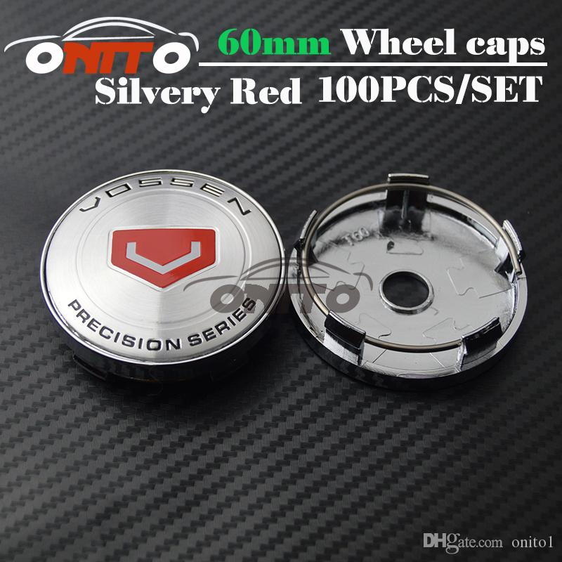 High Quality Styling 60mm for vossen wheel center cap Accessories Emblem Badge Wheel Center Hub Caps Centre Covers Auto accessories