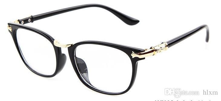 65e068bafa 2019 New Fashion Women Glasses Frame Vintage Retro Men Eyeglasses Clear  Lens Reading Frame Optical Brand Designer Eyeware Oculos From Hlxm