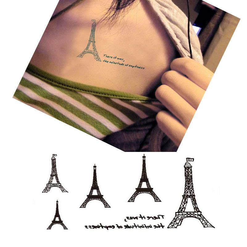 Bittb 10 Unids Vintage Torre Eiffel Infinito Diseno Impermeable