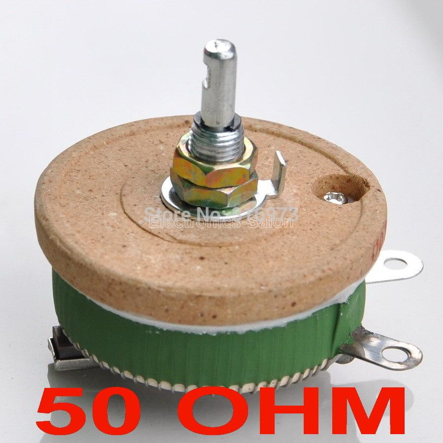 Wiring A Potentiometer As Variable Resistor 2019 Wholesale 50w 50 Ohm High Power Wirewound Rheostat Watts From Adeir 4229