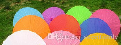 Small & big Chinese colorful Umbrella China traditional dance color parasol Japanese silk props