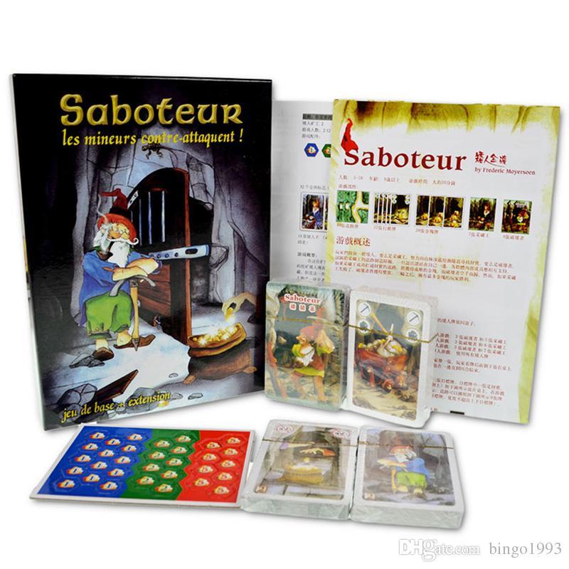 Saboteur Board Game 12 Versionsaboteur1 Version Jeu De Base