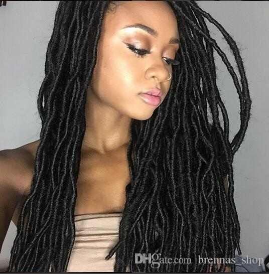 2019 Long Hair Twist 18 New Soft Dread Lock Twist Faux Locs Crochet