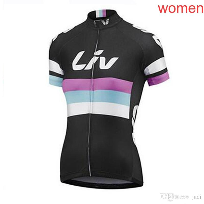 727047387 2018 New Pro Liv Team Women Cycling Short Sleeve Jersey Cycling Clothing  Breathable Mountain Bike Clothes Quick Dry Bicycle Sportswear L1101 LIV  Cycling ...
