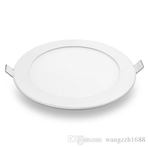 led recessed ceiling lights. 2018 Meegan 12w 6 Inch Ultra Thin Round Led Panel Light, Recessed Ceiling Lights For Home, Office, Commercial Lighting From Wangzzh1688, $7.04 | Dhgate.