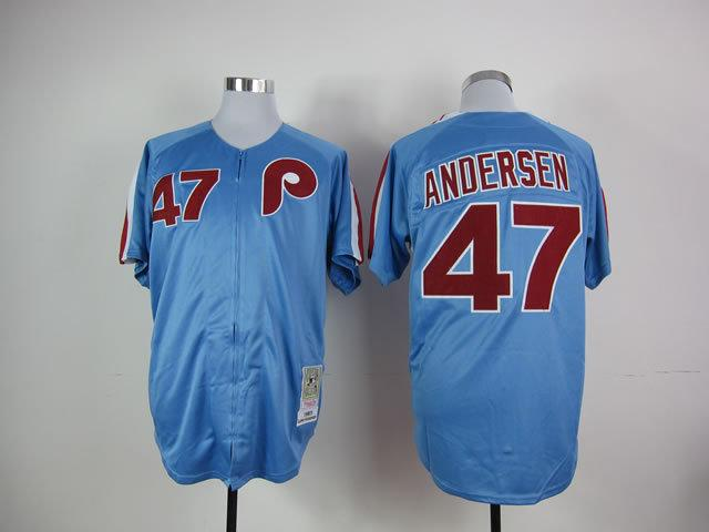 ea8a778419d ... where to buy 2017 2017 men philadelphia phillies jerseys 47 larry  andersen throwback baseball jersey blue