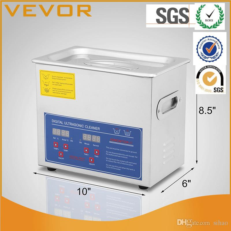 2018 Factory Price Commercial Ultrasonic Cleaner 3l Heated With