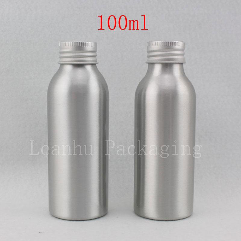 100ml X 30 Empty Metal Aluminum Bottles Containers 100cc