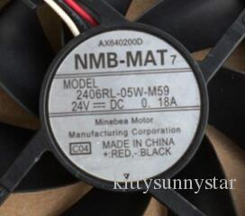 NMB 2406RL-05W-B59 6015 24V 3-Draht-Lüfter