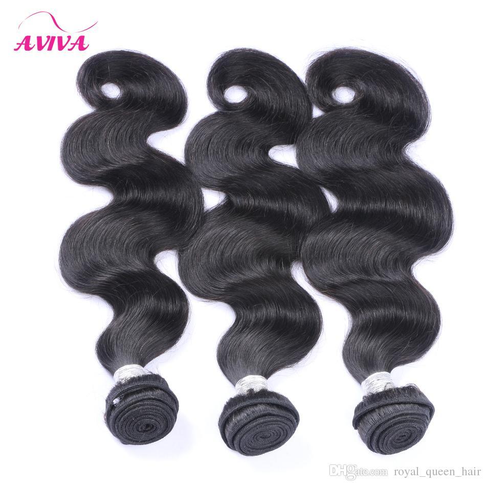 الماليزي الجسم موجة عذراء الشعر البشري ينسج حزم 3 قطع الكثير غير المجهزة الماليزية ريمي الشعر البشري الشعر الطبيعي أسود اللون