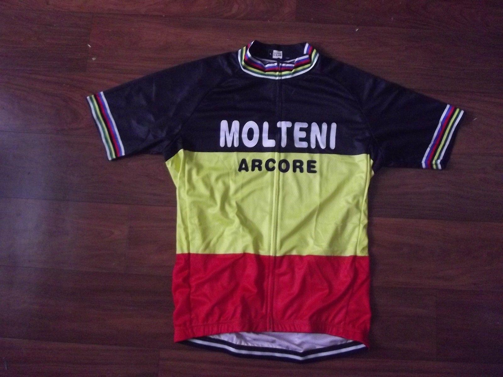 MOLTENI ARCORE RETRO 망 Ropa Ciclismo 사이클링 의류 / MTB 자전거 의류 / 자전거 의류 / 2019 사이클링 유니폼 사이클링 유니폼 2XS - 6XL P5