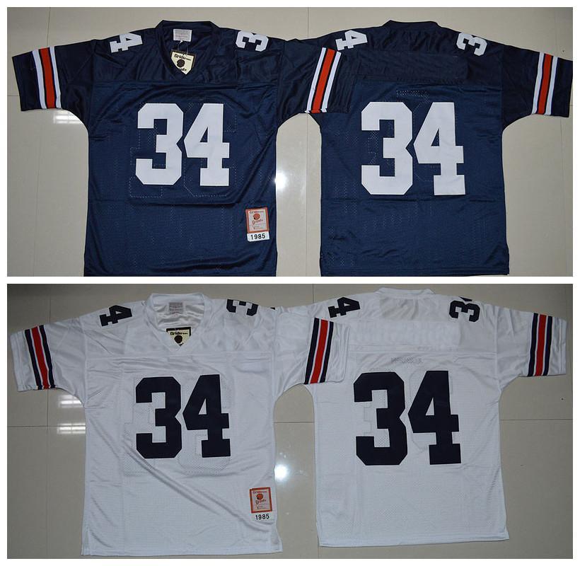 2018 Cheap Auburn Tigers Men Jerseys #34 Bo Jackson White Navy Blue Mens  College Football Throwback Jerseys Size:S Xxl From Fanatics, $29.88 |  Dhgate.Com
