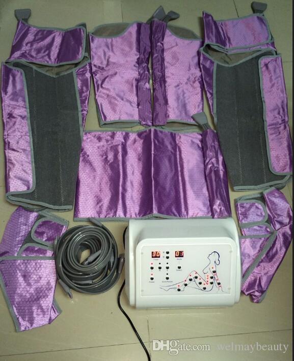 Popular en Europa Home Spa Salon Uso Terapia de presión de aire Máquina de presoterapia Belleza
