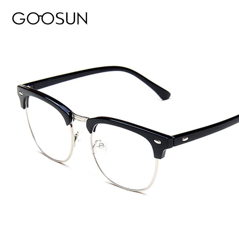 Compre Atacado Alta Qualidade Vintage Óculos Mulheres Designer De Marca  Masculino Clássico Óculos De Armação De Óculos Masculinos Pontos Oculos De  Grau ... 2ab922b4c3