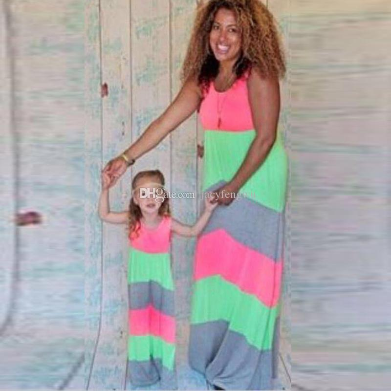 54a587a80bd55 Mother And Daughter Clothes Family Matching Quality Skirt Baby Clothing  Girls Princess Clothes Maternity Dress Women Fashion Clothes QZZW060 Mother  And ...