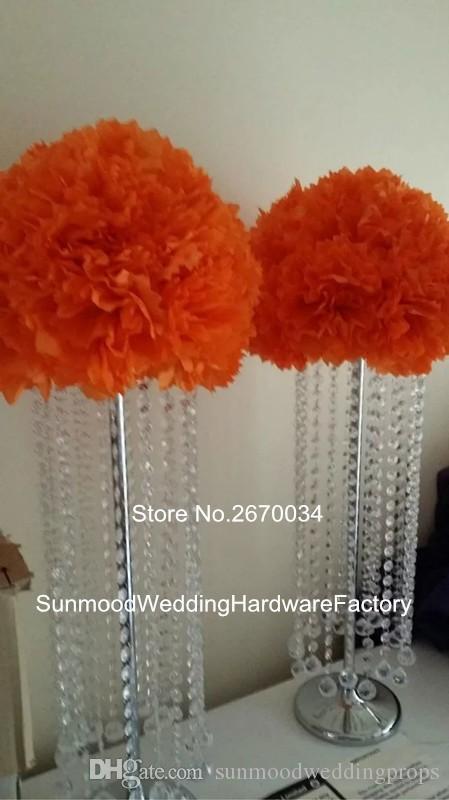 новый стиль Acrlice хрустальные бусины свадебные цветочные композиции стенды для украшения стола