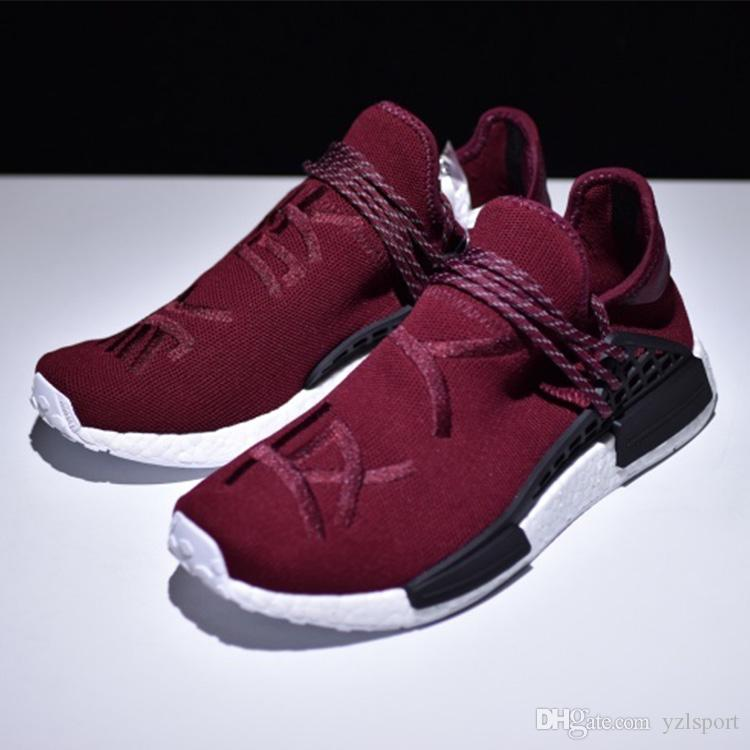 watch 853d4 982be nmd human race burgundy