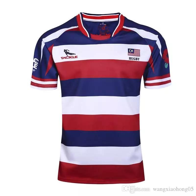 Compre 2017 18 Malas Malas Malásia Camisas E Camisolas Nova Zelândia 2016  2017 Rugby Malásia 2017 Home Super Rugby Malásia Camisa De Wangxiaohong05 7a7cb425bea0c