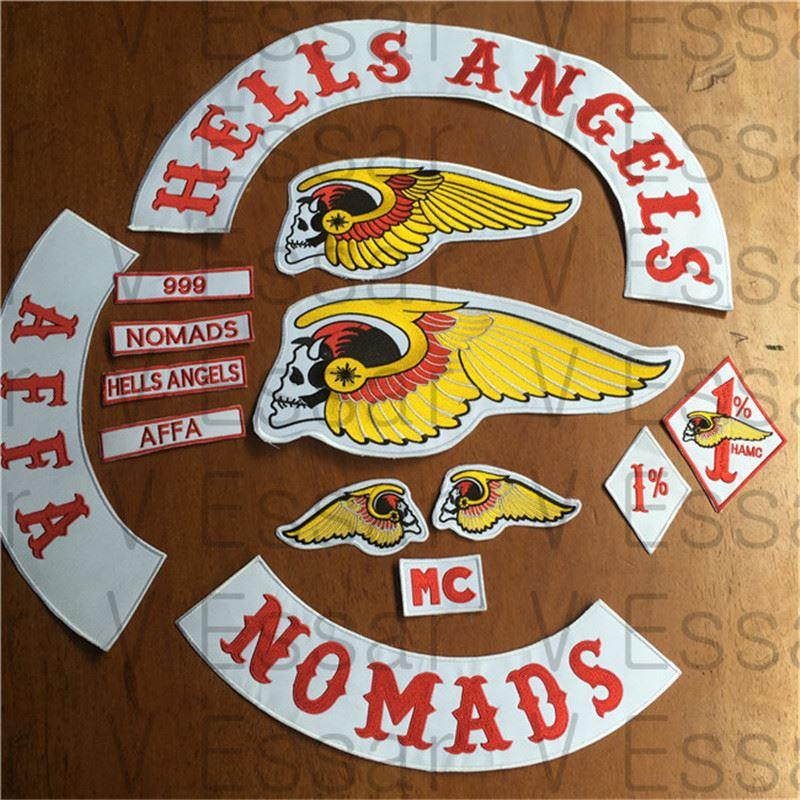 2017 Hells Angels Patches Motorcycle Jacket Iron On Patches