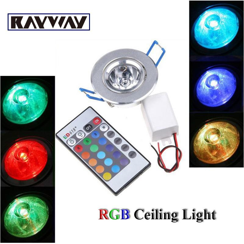 Wholesale genuine 3w rgb led recessed ceiling light remote control wholesale genuine 3w rgb led recessed ceiling light remote control dimmable led down light colorful lamp for xmas decoration led downlight fittings mozeypictures Image collections