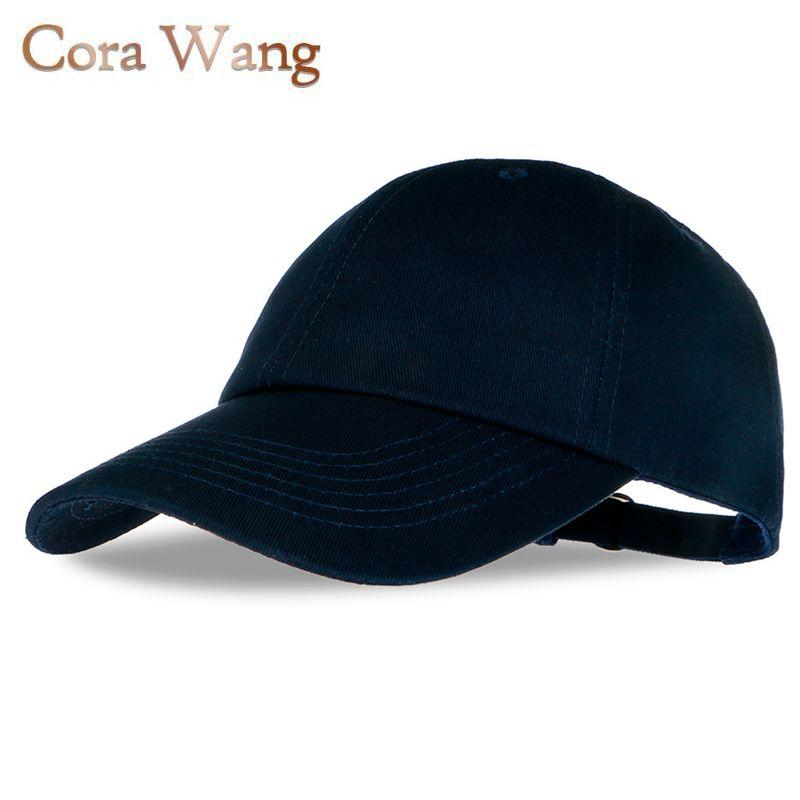 Wholesale Top No Logo Snapback Cap Women Men Polo Solid Color Baseball Hat  Fishing Sports Summer Golf Outside Casual Cotton Travel Touca Millinery ... fdb41543535
