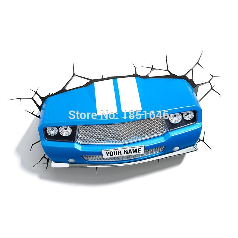 2018 Wholesale Hot Dreammaster 3d Wall Lamp Fighter Plane Truck Car ...