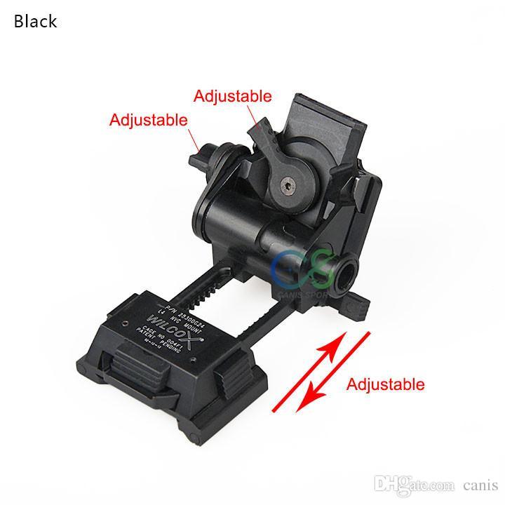 Yeni Varış HıZLı Kask Dağı Metal Adaptörü Açık Spor Kullanımı Için Siyah Tan Şerit Rengi CL24-0049