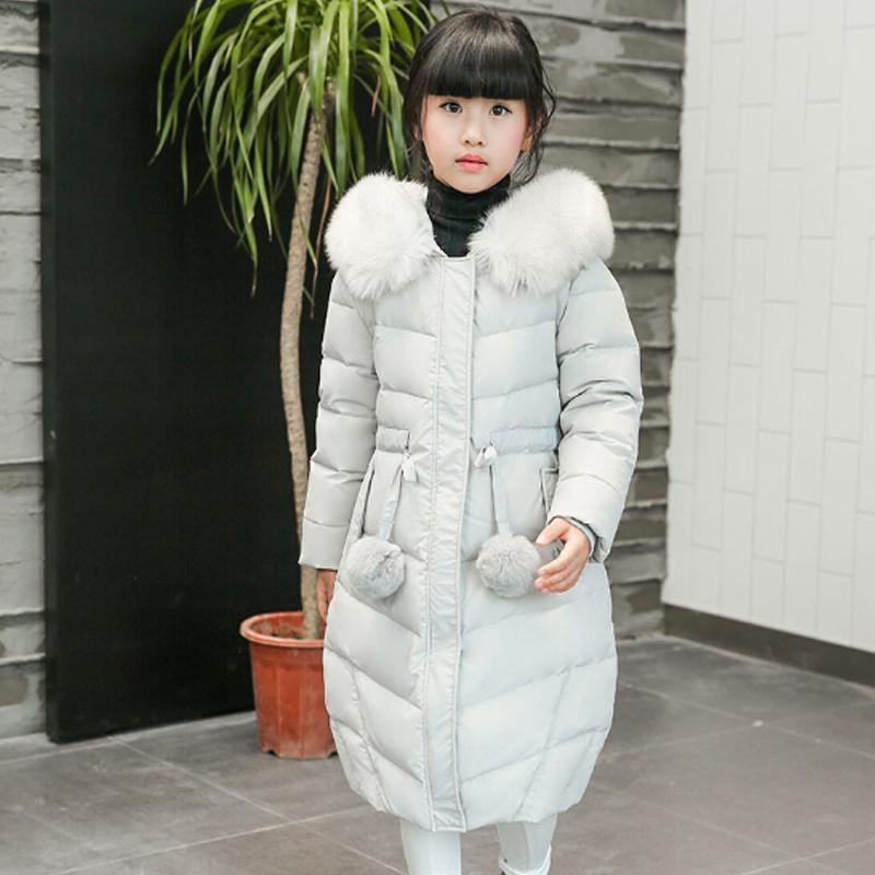 High Quality Down Coat Girls White Duck Winter Down Jacket Winter ...