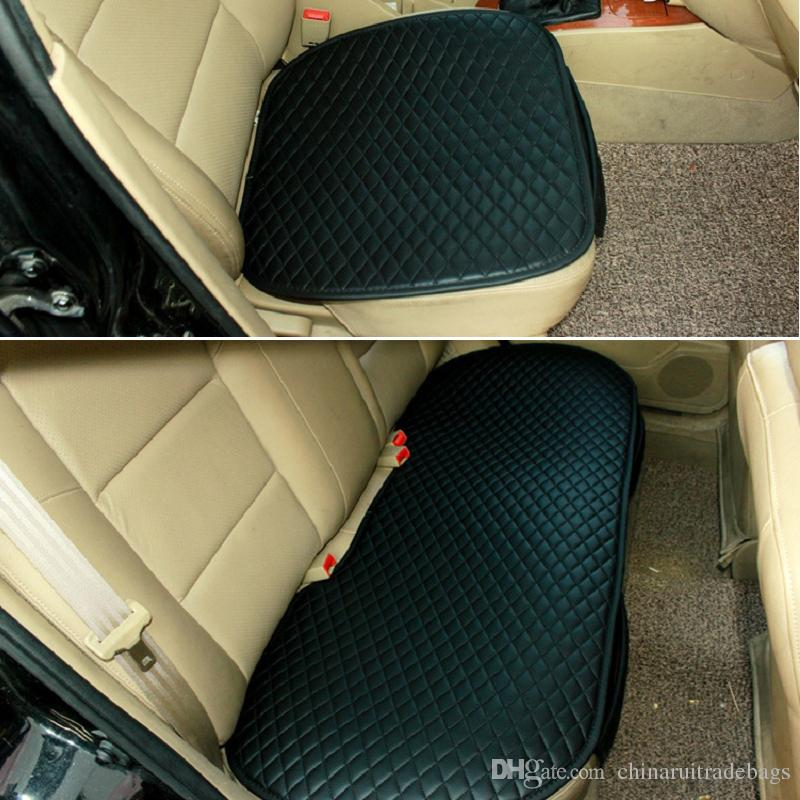 New Car Front Back Seat Covers Bamboo Charcoal Universal Fit SUV