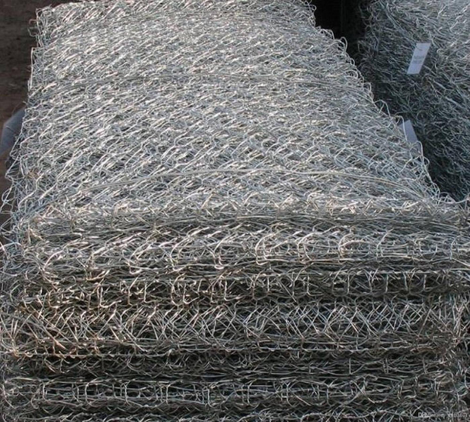 Großhandel Standard Hexe Gabion Draht Mesh Qualität Staniless Stahl ...