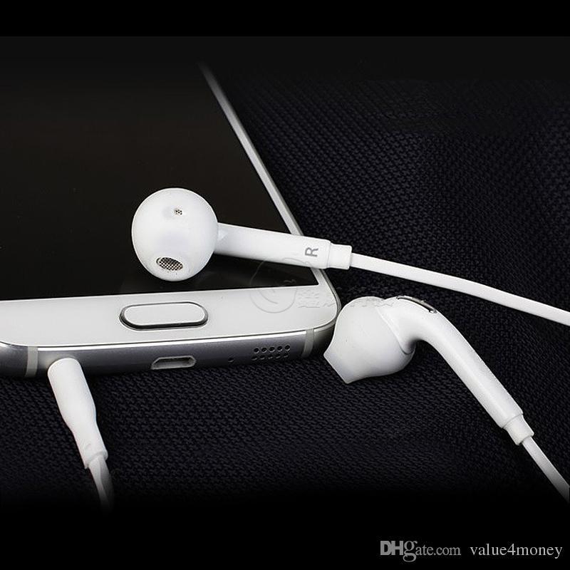 s6 s7 edge Auriculares intrauditivos con micrófono Control de volumen auriculares Auriculares para Samsung Galaxy S8 Note 8 S4 S5 S7 S6 Edge