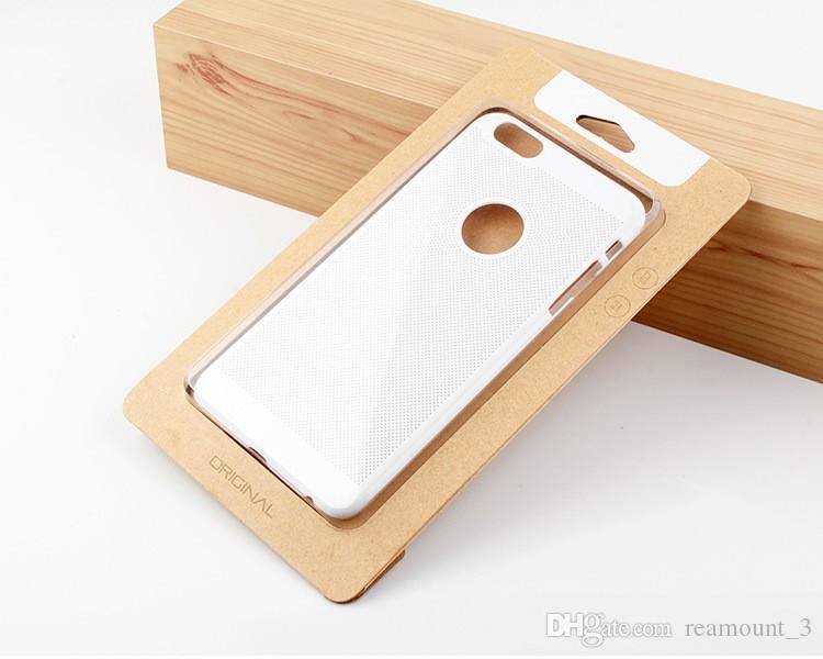 iPhone6 / 7 Samsung S7 가장자리 전화 포탄 상자를위한 보편적 인 kraft 종이 포장 상자 포장