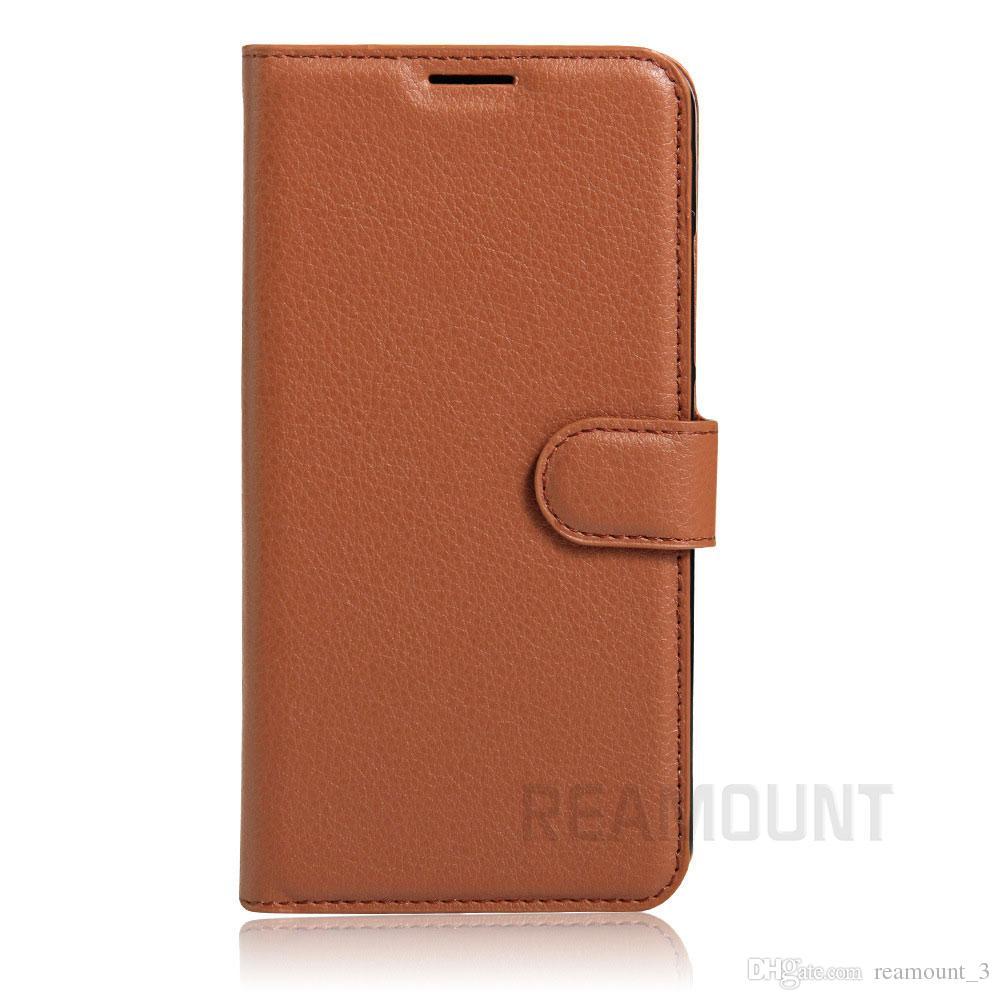 높은 품질 PU 가죽 스마트 플립 커버 케이스 ZTE 블레이드 A452 A450 A410 스탠드 전화 가방 Coque Fundas