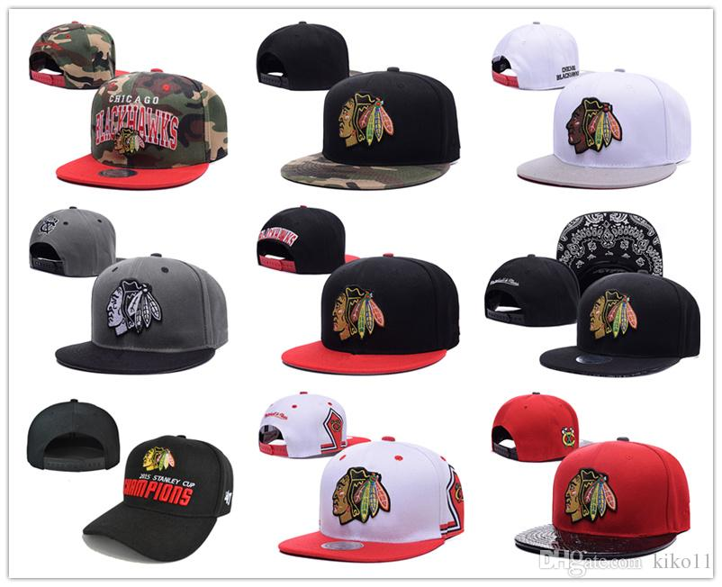best service 202b4 99e2f ... usa 2017 hotsale mens chicago blackhawks snapback hats team logo  embroidery sports adjustable hockey caps vintage