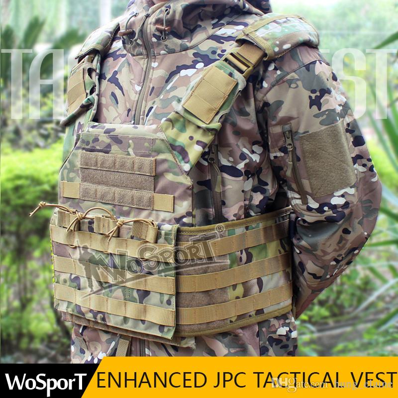 2018 Enhanced Tactical Jpc Vest Chest Rig Jumper Carrier