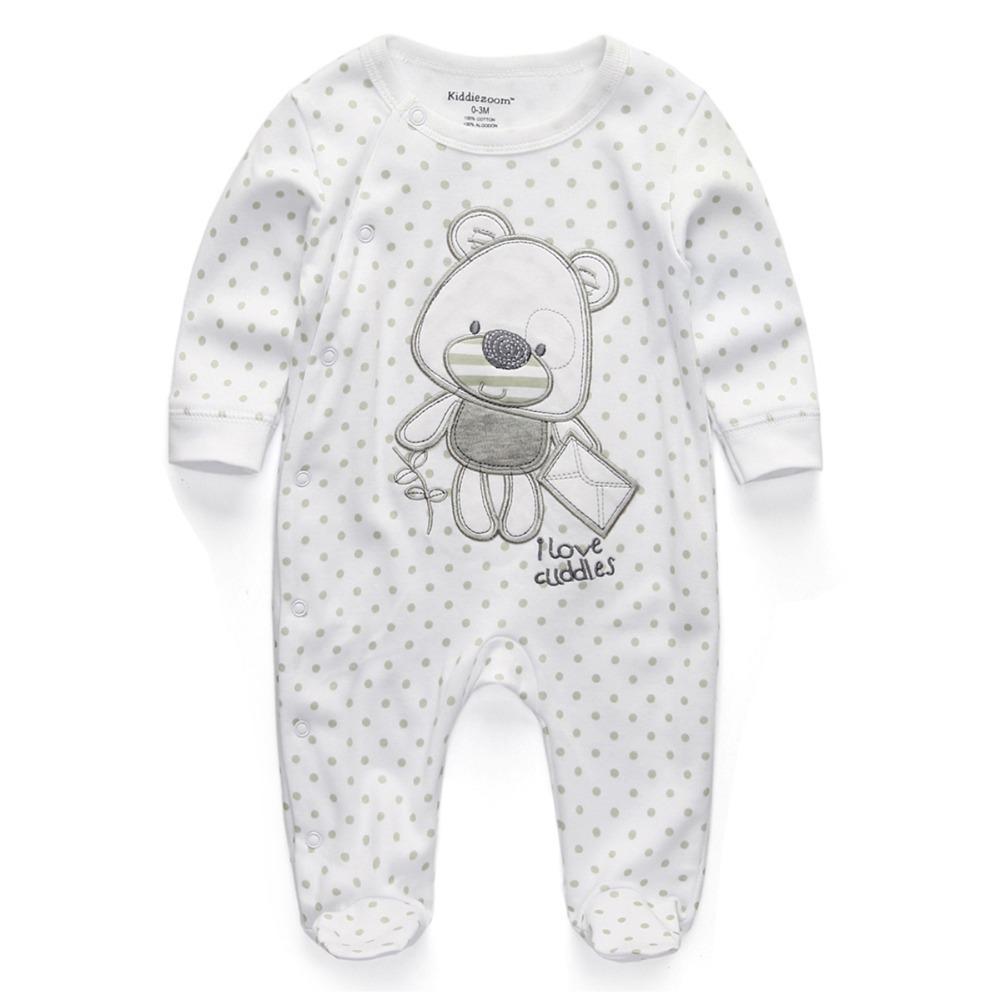 c971447b9e50 Baby Clothing 2017 New Newborn Baby Boy Girl Romper Clothes Long ...