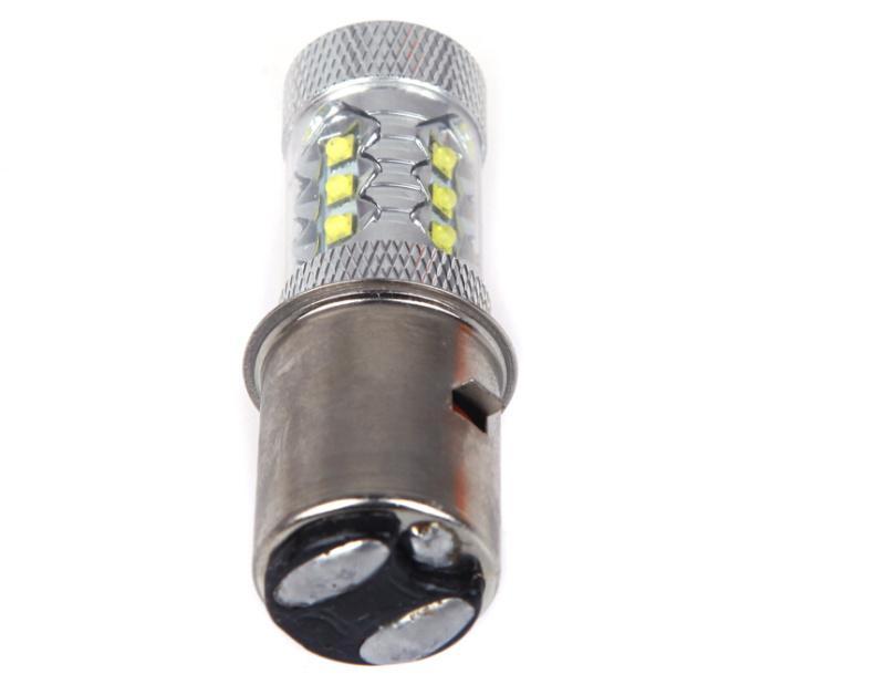 16 * CREE 80W LED Motor Fahrrad / Moped / Roller / ATV Scheinwerferlampe BA20D H6 Auto LEDs Lampe Beleuchtung