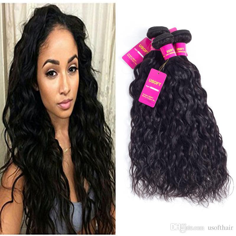 8a Brazilian Virgin Hair Water Wave Extensions 100 Unprocessed
