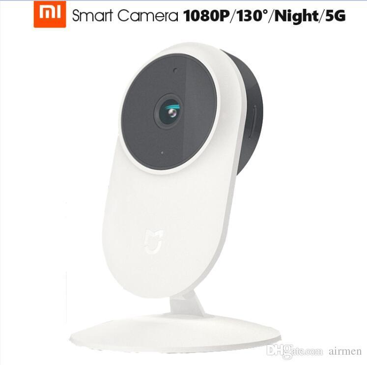 Original Xiaomi 1080P Smart Web IP Camera 2017 Newest Mi Mijia Home Devices 130 Degree 24G 5G Wi Fi YI