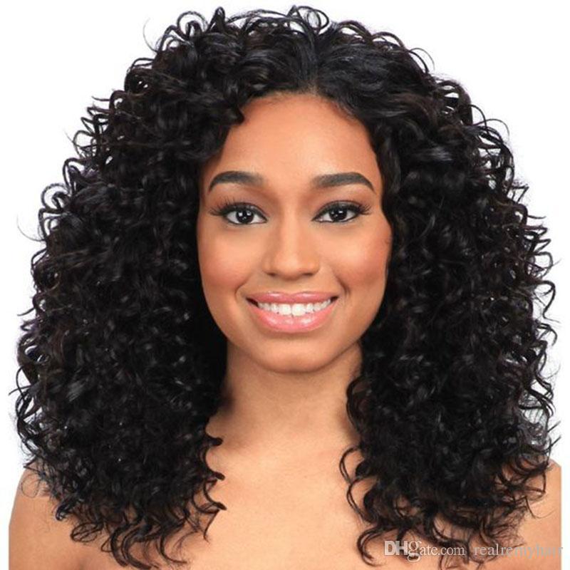 Passion Curly Virgin Hair Weave Deep Wave Curly 4 Bundles