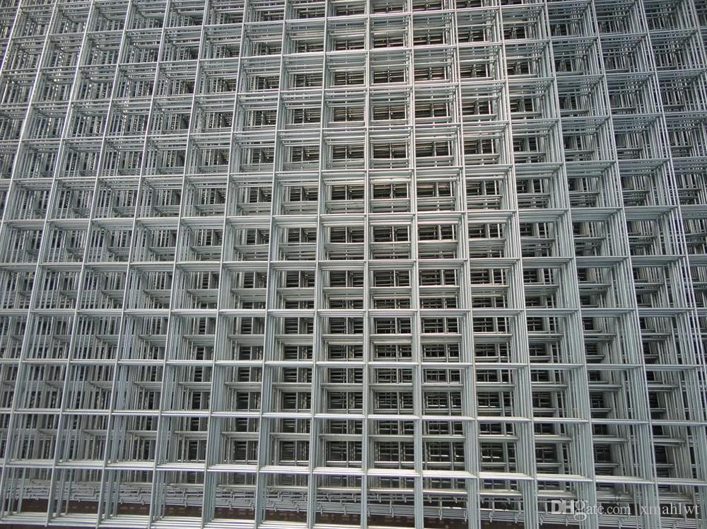 2018 1x1 12g 4ft X 8ft Galvanized Welded Wire Mesh Sheet High ...