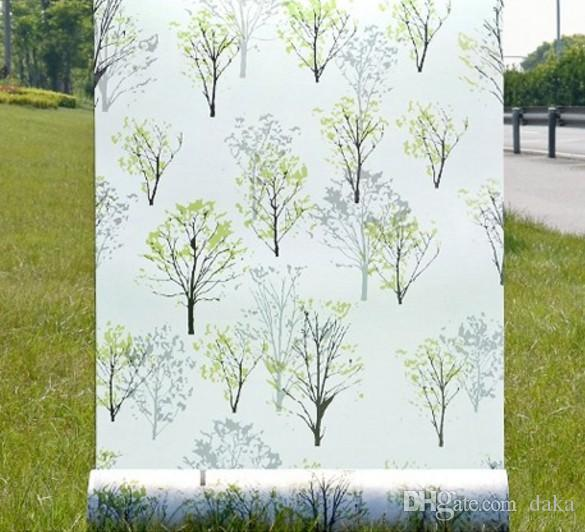 Frosted Opaque Glass Window Film Privacy Adhesive Glass Films Home - Window decals for home privacy