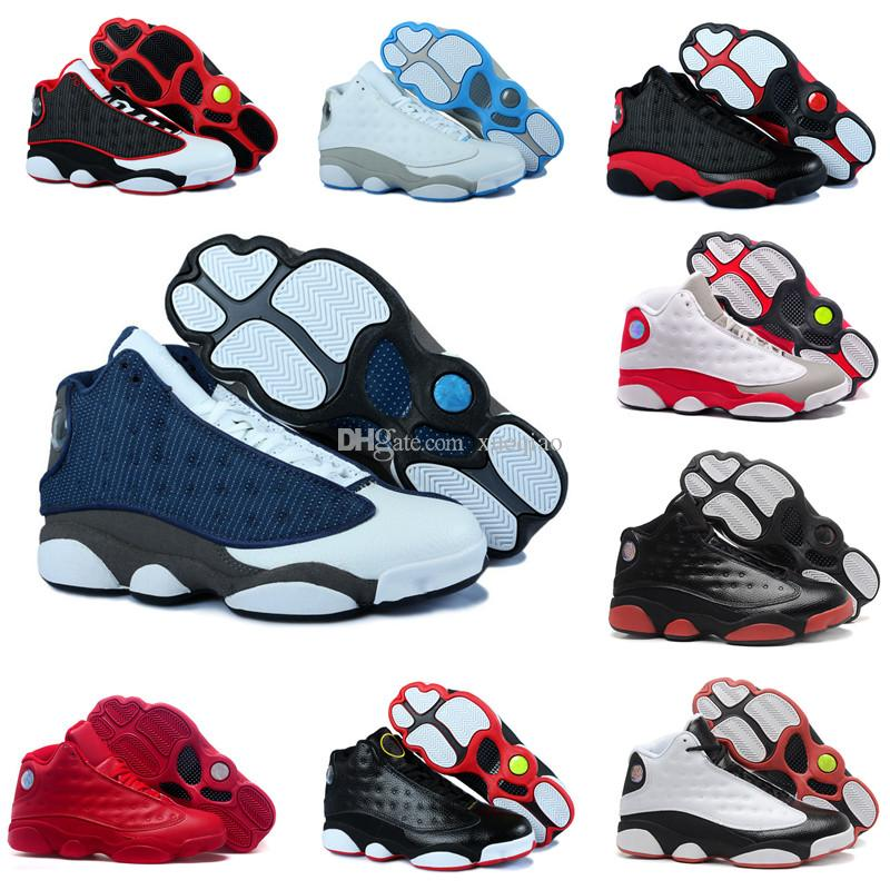 85c4424e90d741 High Quality 13s Men Basketball Shoes 13 Phantom Chicago GS Hyper Royal  Black Cat Bred Men Women Designer Sneakers Sports Shoes Size 7 13 Shaq  Shoes Kd ...