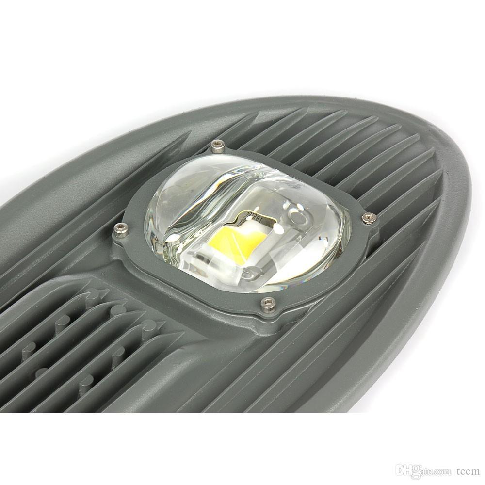 DHL LEVOU luz de Rua 50 W 80 W 100 W 150 W AC 85 V ~ 265 V de Alta Força Cobra Cabeça Road Light Garden Luz Ao Ar Livre Iluminação Direta Da Fábrica