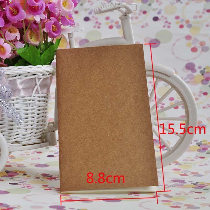 cahier papier cahier blanc bloc-notes livre vintage papier kraft facile à transporter petit cahier croquis graffiti créatif simple papeterie