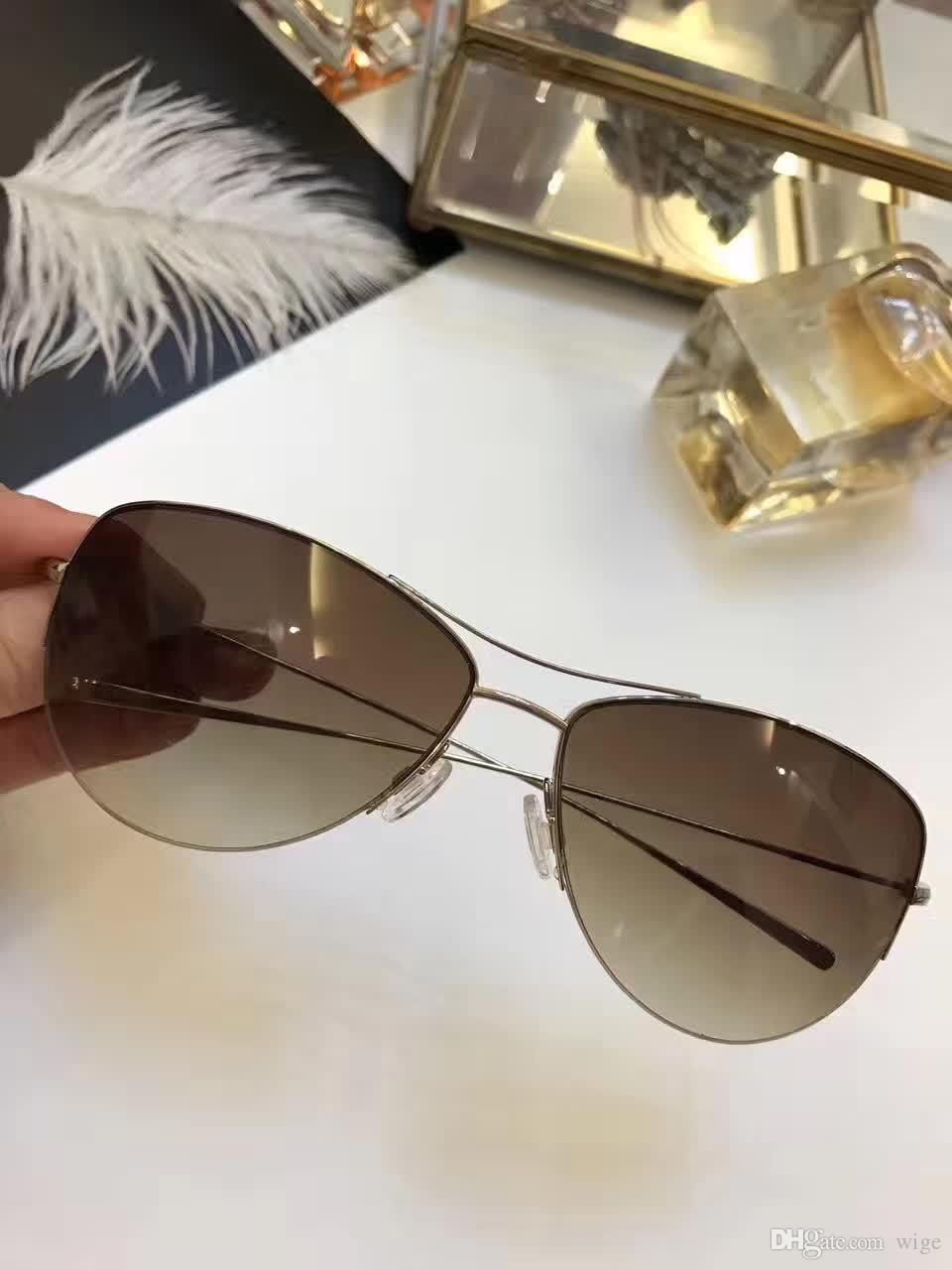 Brillen Sol Sonnenbrille Oliver Peoples Strummer Sunglasses Titanium ...