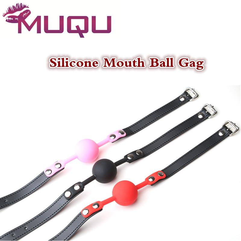 Silicone Ball Leather Mouth Gag Black Pink Red Mouth Stuffed Erotic Toys  Adult Sex Toy Ball Plug Juguetes Sexuales Para Parejas Freeonlinegames  Games Online ...