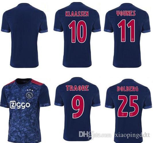 shop soccer jerseys online thai quality 2017 2018 ajax fc soccer jersey 17 18 klaassen fischea bazoer milik home away football uniforms shirt ajax maillot