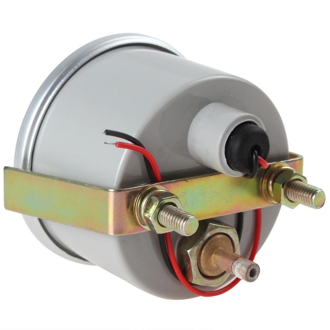 "Silver+Grey Color 2"" 52mm 0~30in.Hg / 0~20PSI Auto Car Boost Gauge Car Turbo Boost Gauge Meter CEC_505"